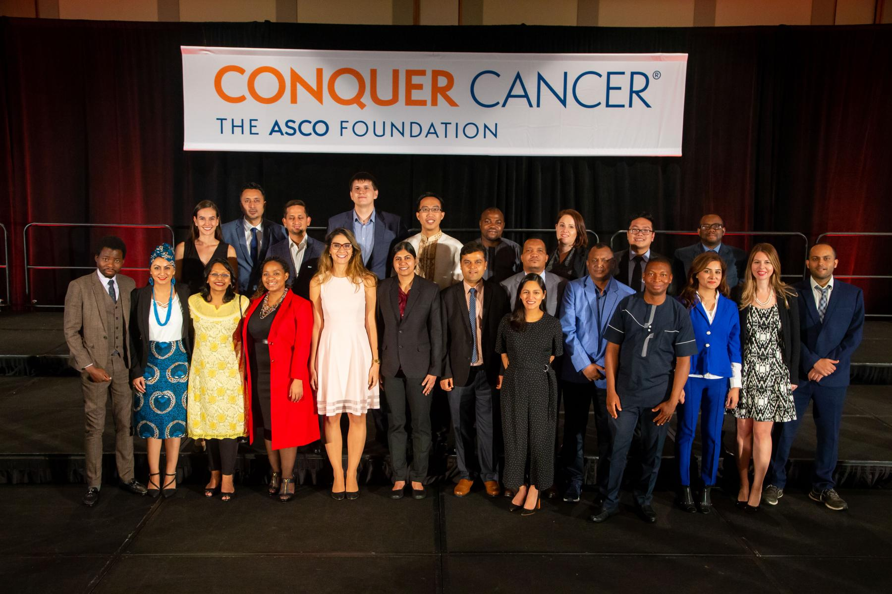 2019 IDEA recipients at the ASCO Annual Meeting.