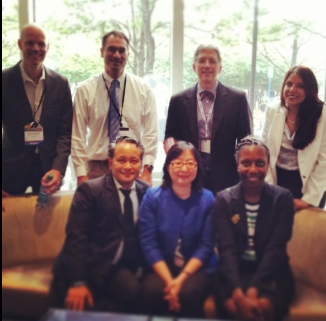 MSKCC fellows  group photo from 2014