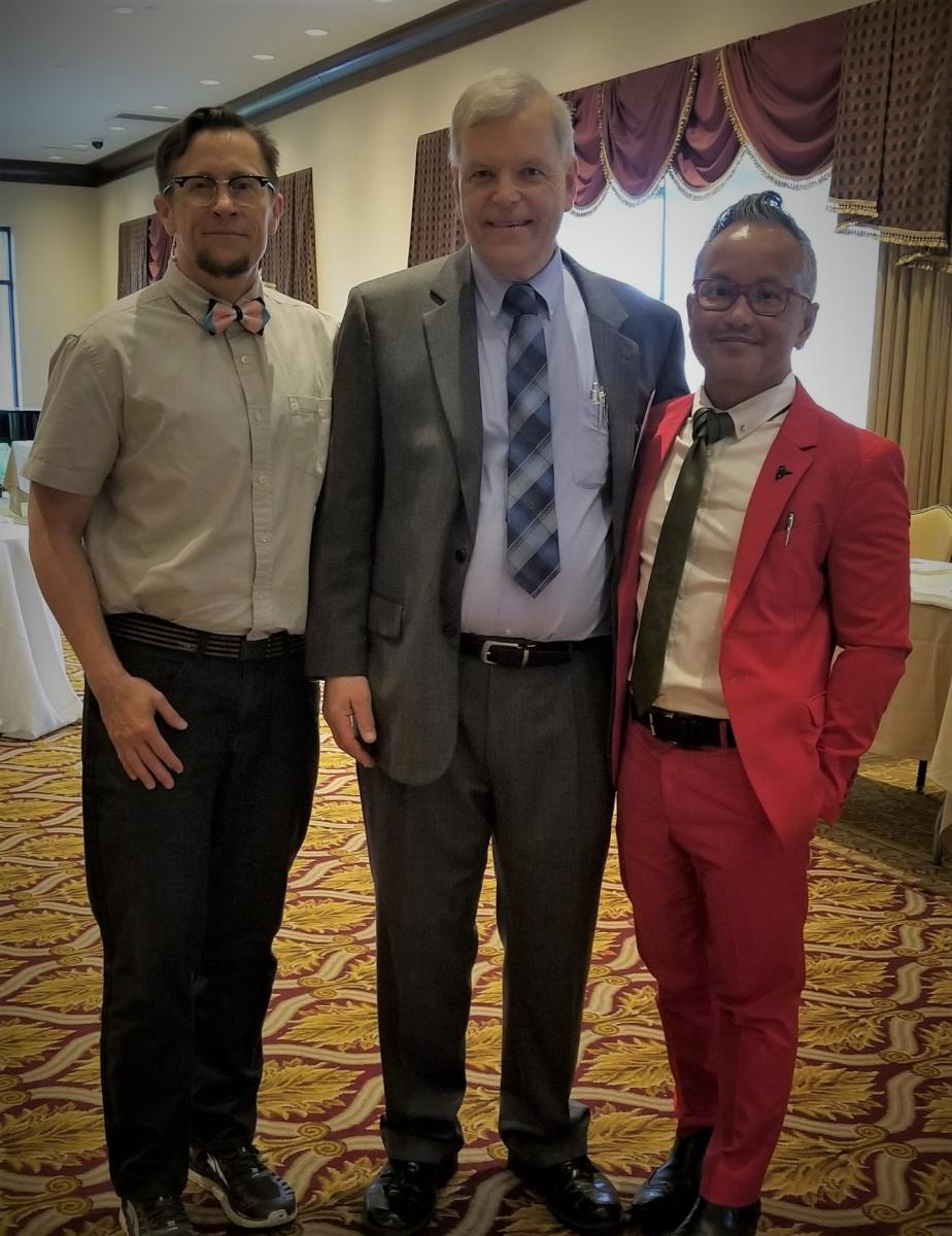 Scout, Mr. Dziobek, and Dr. Dizon