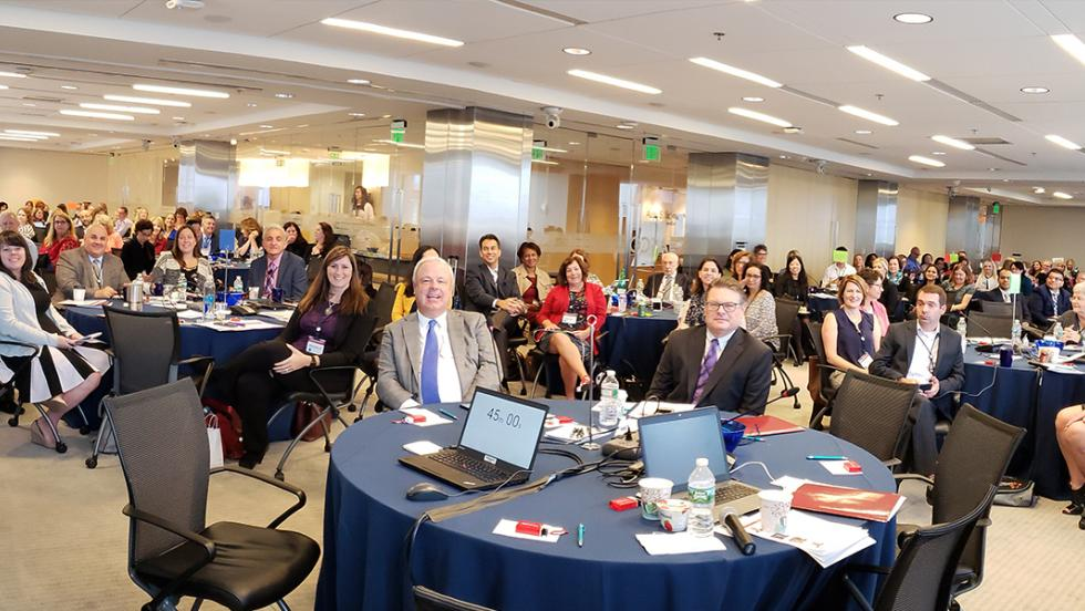 Participants at the 2018 RCF Annual Meeting.