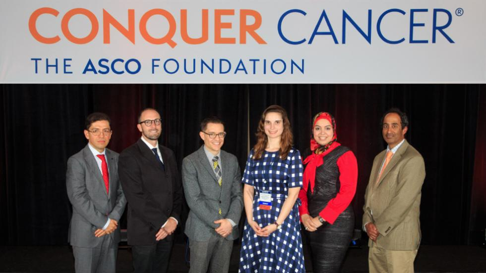 Global Oncology Young Investigator Award recipients