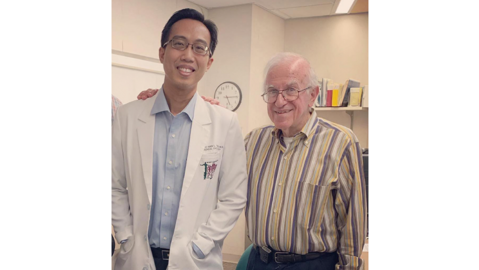 Dr. Frederick Ting and Dr. Lawrence Einhorn.