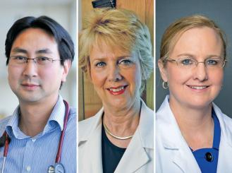 composite of three doctors