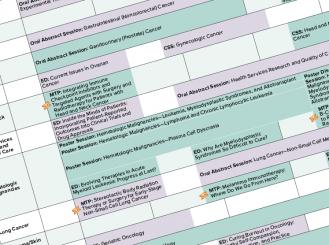 Annual Meeting Program screenshot