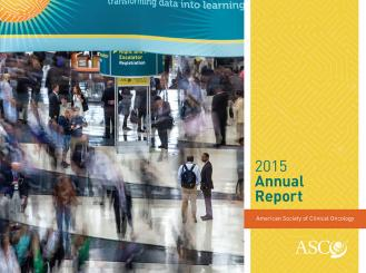 cover of ASCO 2015 annual report