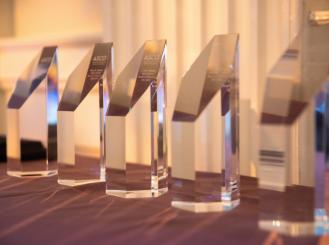 ASCO awards on display