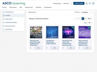 ASCO eLearning screenshot