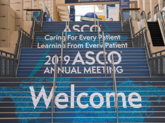 Stairs at the 2019 ASCO Annual Meeting