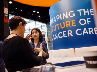 CancerLinQ Booth
