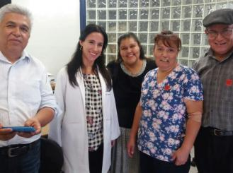 Dr. Chávarri-Guerra with Lily and members of Lily