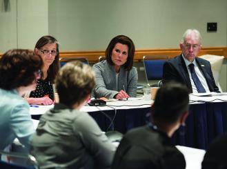 Conquer Cancer and Susan G. Komen executives