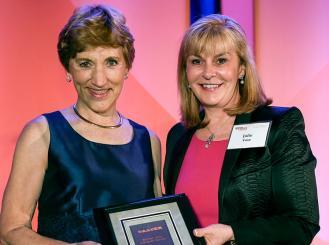 Dr. Sarah Donaldson and Dr. Julie Vose