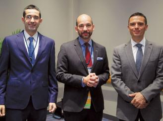 Dr. Alameddine, Dr. Lopes, and Dr. Bergerot