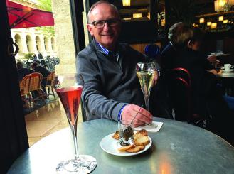 Photo of Dr. Kosty on vacation in Paris