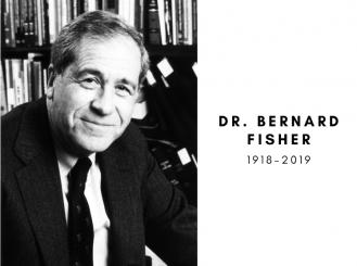 Dr. Bernard Fisher photo, 1918-2019