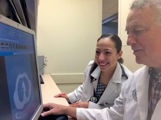 Drs. Maria Bourlon and Michael Glodé