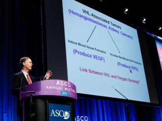 Dr. William G. Kaelin gives the Science of Oncology Award lecture at the 2016 ASCO Annual Meeting.