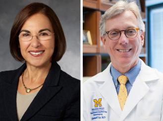 Dr. Lidia Schapira and Dr. Daniel Hayes