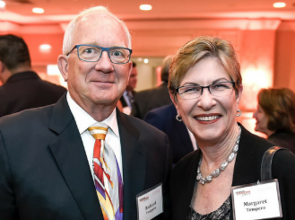 Dr. Tempero with her husband, Richard, at the 2016 ASCO Annual Meeting
