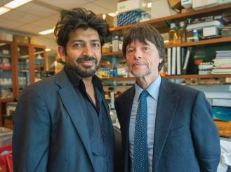 Dr. Siddhartha Mukherjee and Ken Burns