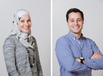 Dr. Nadine Housri and Samir Housri