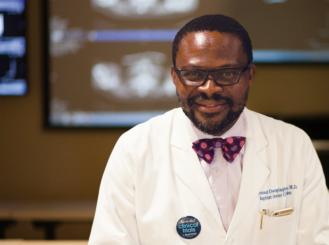 Dr. Raymond Osarogiagbon headshot