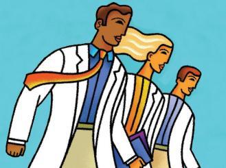 three doctors on the move