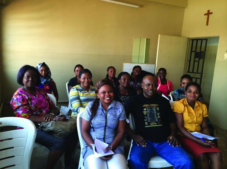 Dr. Chigbu and community health educators