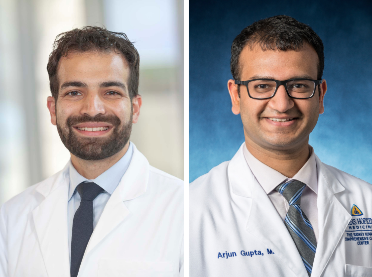 Dr. Ramy Sedhom and Dr. Arjun Gupta headshots