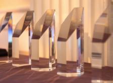 array of crystal awards