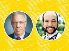 headshots of Dr. Lawrence Shulman and Dr. Gilberto Lopes 2016