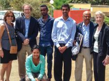 Photo of organizers and facutly who participated in the Cancer Control in Primary Care course in Ethiopia