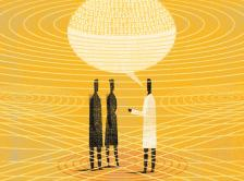 illustration of three doctors conversing