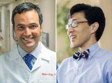 Composite image of Dr. Robert M. Daly and Dr. Steve Y. Lee