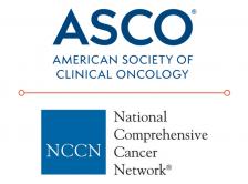 ASCO and NCCN logos