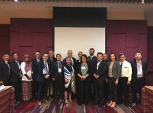 Members of the Asia Pacific Regional Council and ASCO staff at the 2019 ASCO Breakthrough meeting in Bangkok, Thailand