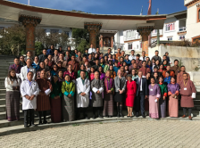 faculty and attendees at 2017 CCPC Bhutan