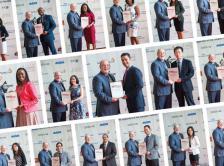 contact sheet of CCF 2014 award winners