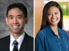 Headshots of Dr. Alexander Chin and Dr. Joanna Yang