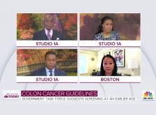 Craig Melvin and Dr. Kimmie Ng on on NBC's TODAY Show.