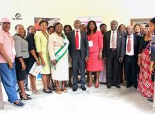 Image of policy makers in Akwa Ibom State, Nigeria, who attended the Cancer Control in Primary Care Course, held from February 17-19