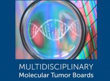 Multidisciplinary Molecular Tumor Boards logo and DNA image