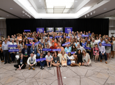 GO2 staff, advocates, and volunteers at the 2019 National Advocacy Summit