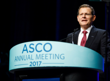 Dr. Hudis speaking at the 2017 ASCO Annual Meeting.