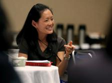 Dr. Lin at LDP orientation in 2014