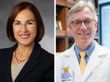 Dr. Lidia Schapira and Dr. Daniel Hayes