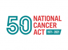 National Cancer Act 50 1971-2021 logo