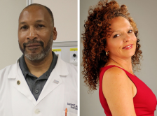 Dr. Sanford E. Jeames and Dr. Shelley L. Imholte headshots