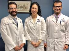 Dr. Sedhom, Dr. Nakajima, and Dr. Gupta