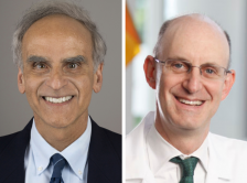 Dr. Stephen Cannistra and Dr. Jonathan Friedberg headshots